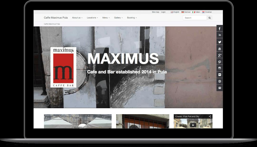 maximuscaffe.com